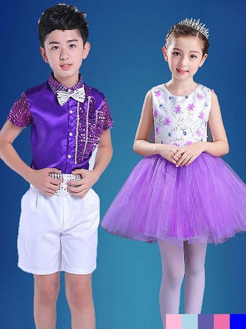 Matching Dance Dress Set