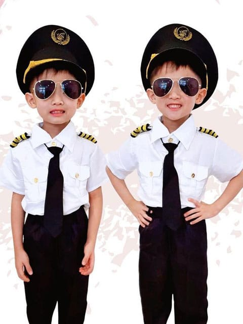 kid pilot uniform singapore
