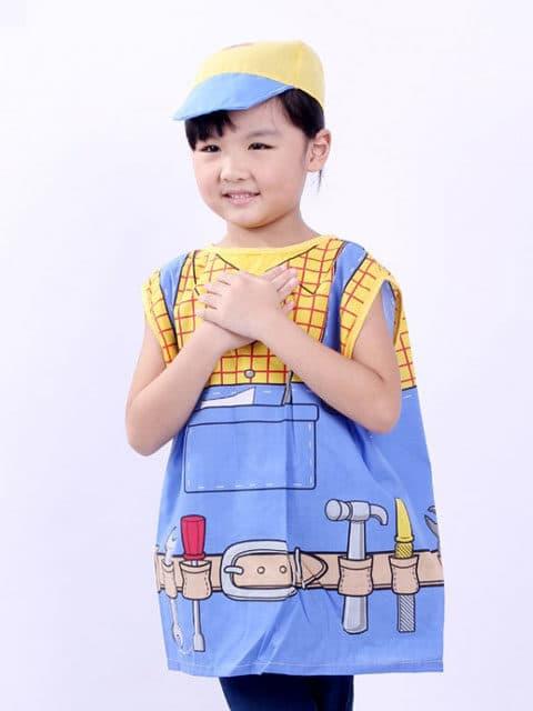 kids plumber costume