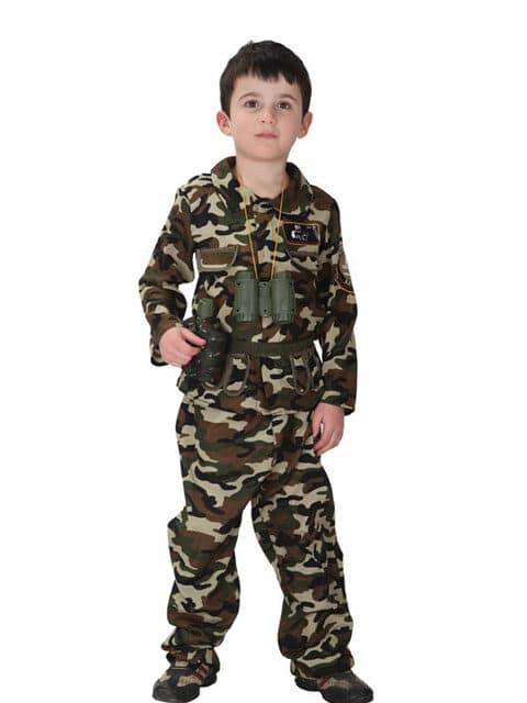 Army Khaki Costume
