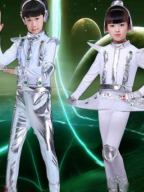 kid Space Futuristic Wear
