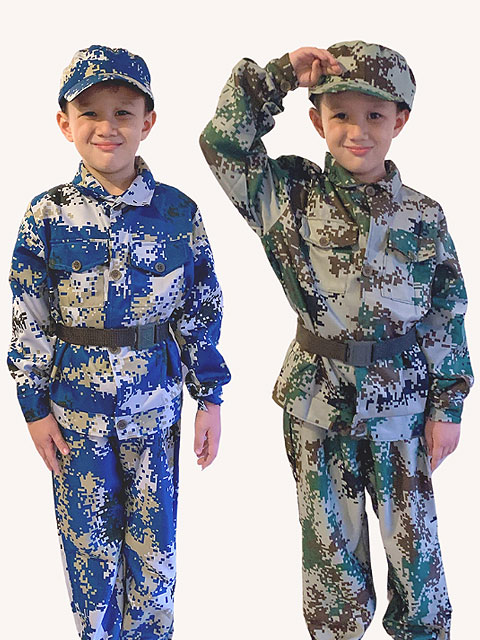 Army Tactical costume for children
