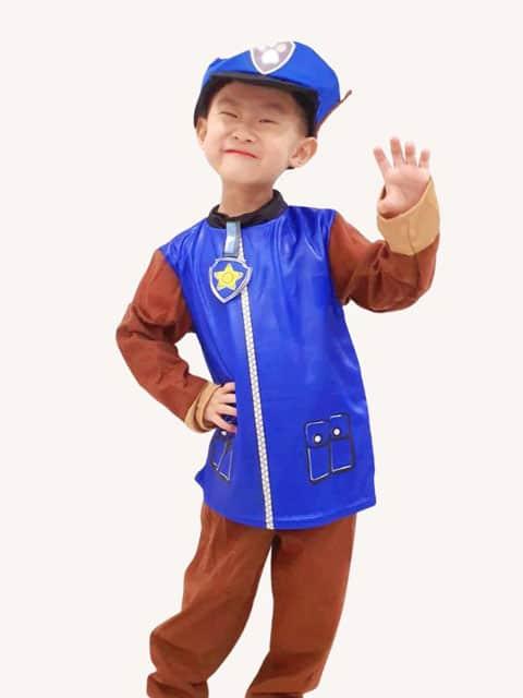 Paw Patrol Chase Costume singapore
