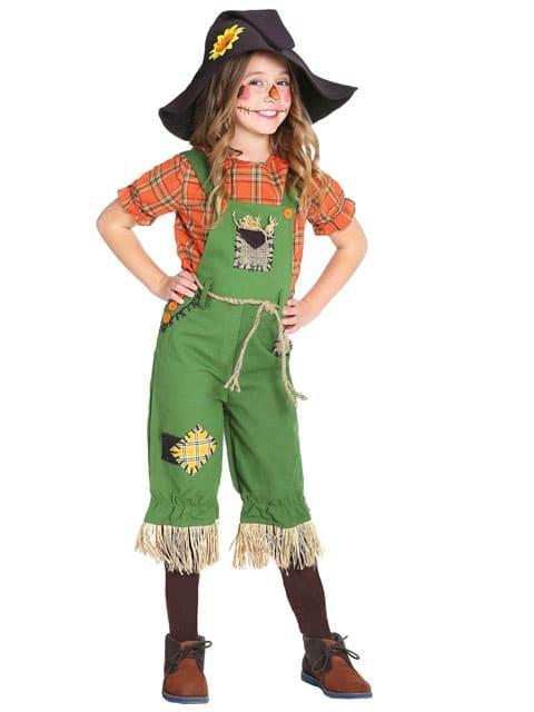 Creepy Scarecrow kids Costume halloween singapore