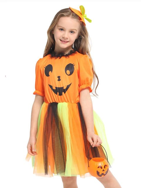 Pumpkin Theme Dress costume singapore