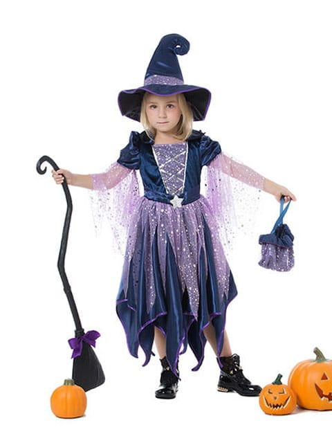 Girl Wizzard Witch costume for kids singapore