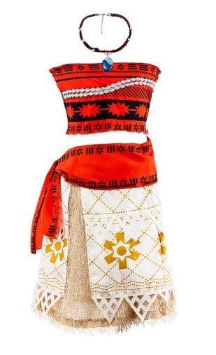 Moana Sundress Costume singapore