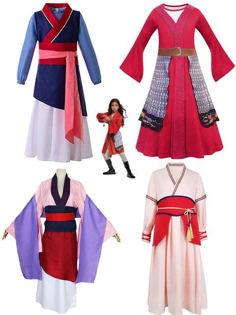Mulan Dress Selection singapore