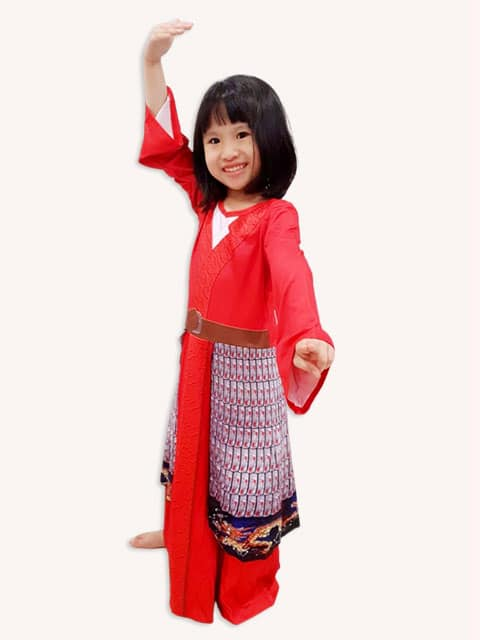 Chinese Mulan dress Singapore