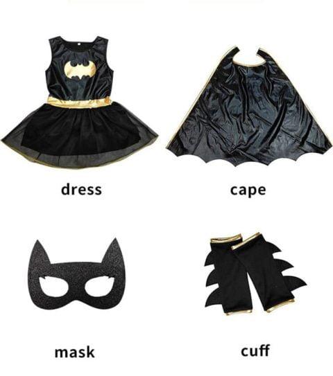 Batgirl Costume for Kids Singapore