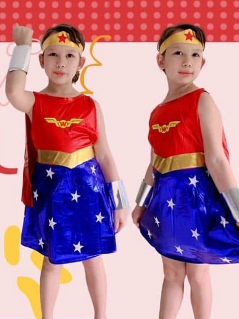Wonder Woman Costume for kids singapore