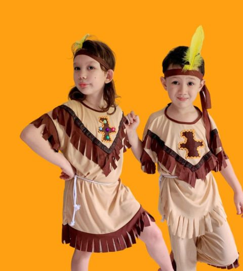 Red Indian Costume singapore