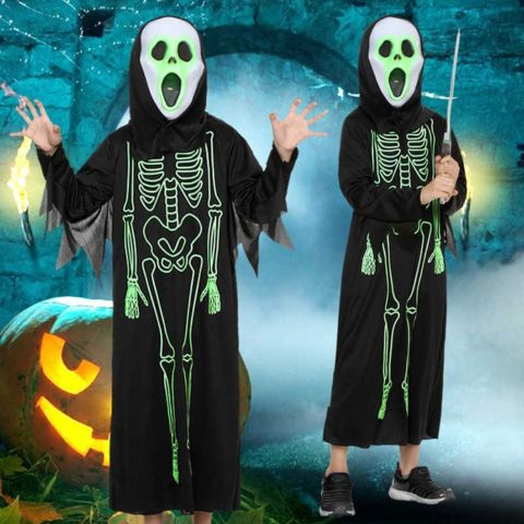 Ghost Glow in the Dark costume kid Singapore