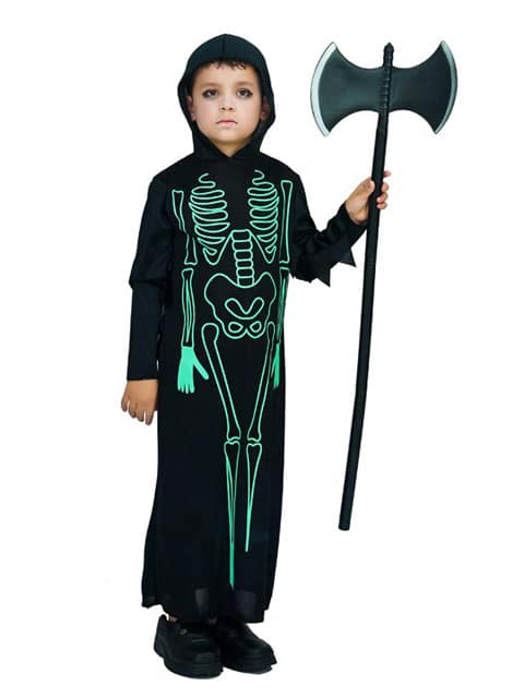 Ghost Glow in the Dark costume kid Singapore