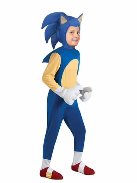 Sonic The Hedgehog Costume for Kids Singapore