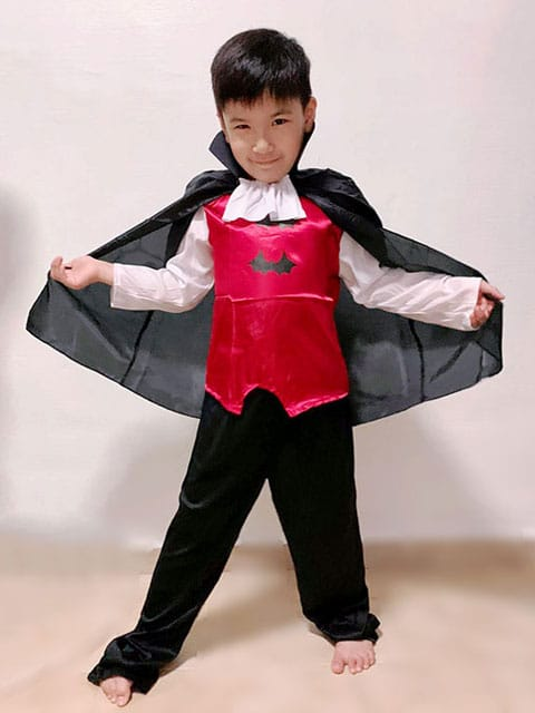 Dracula Outfit costume children singapore