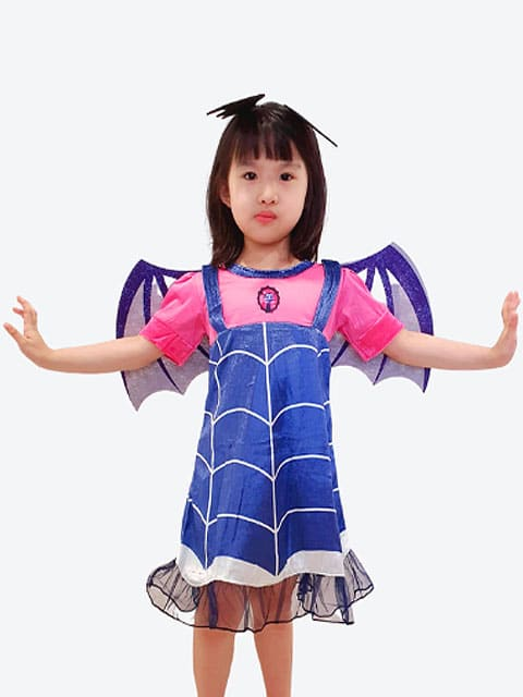 Vampirina Dress Costume Singapore