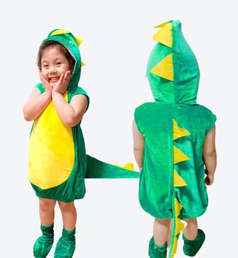 Green dragon Costume for children singapore