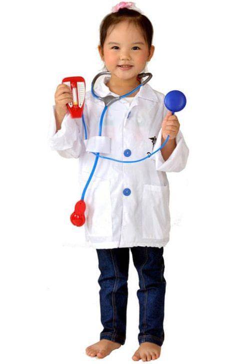 Doctor uniform set costume kids