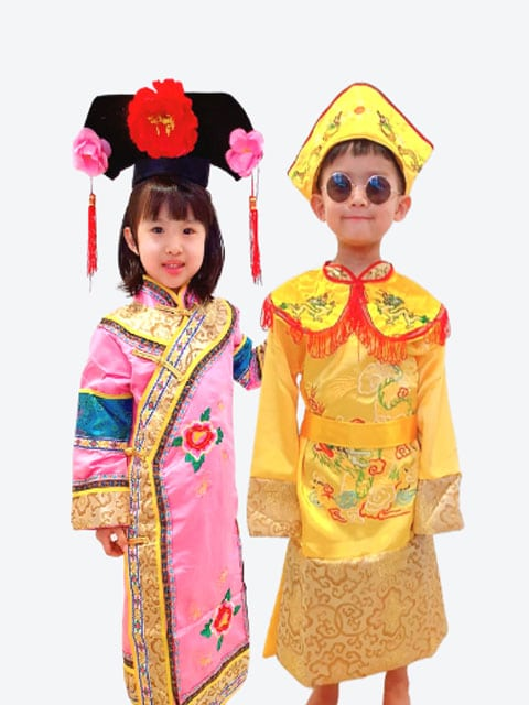 Chinese Princess and Emperor Costume Singapore