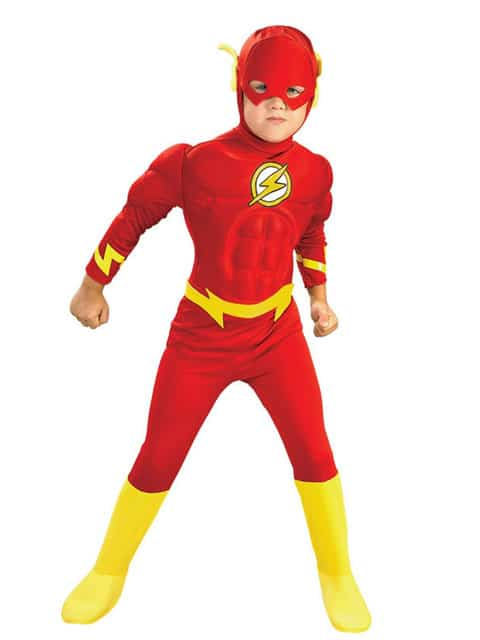 Flash Cosplay Costume for children singapore