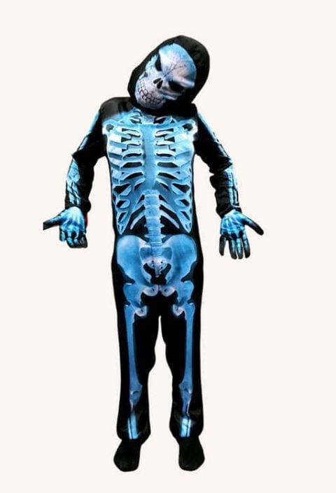 X Ray Skeleton costume for children singapore