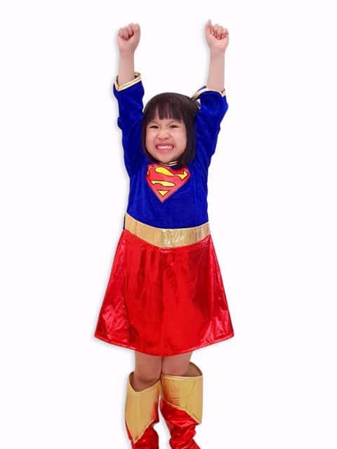 supergirl costume kids