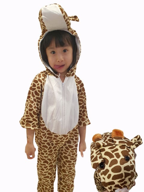 Children giraffe costume Singapore