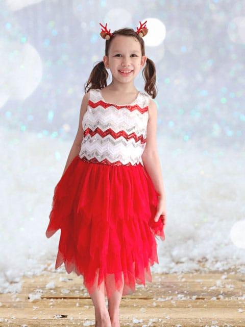 Merry Zigzag Dress singapore