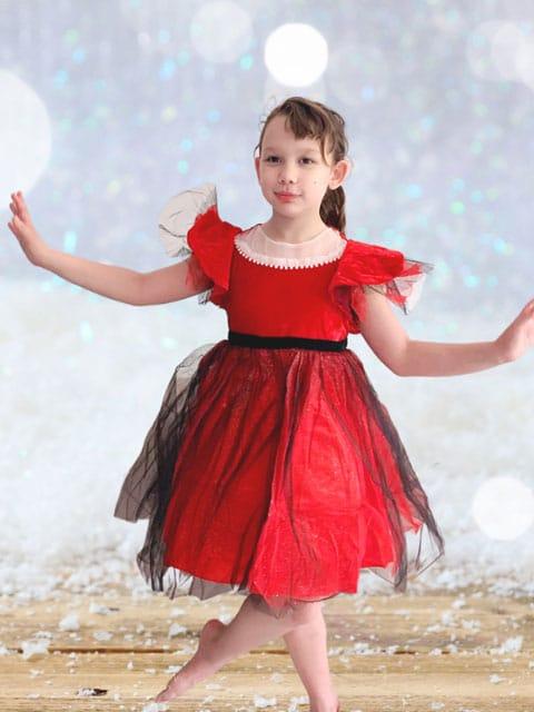 Red Velvet Dress singapore