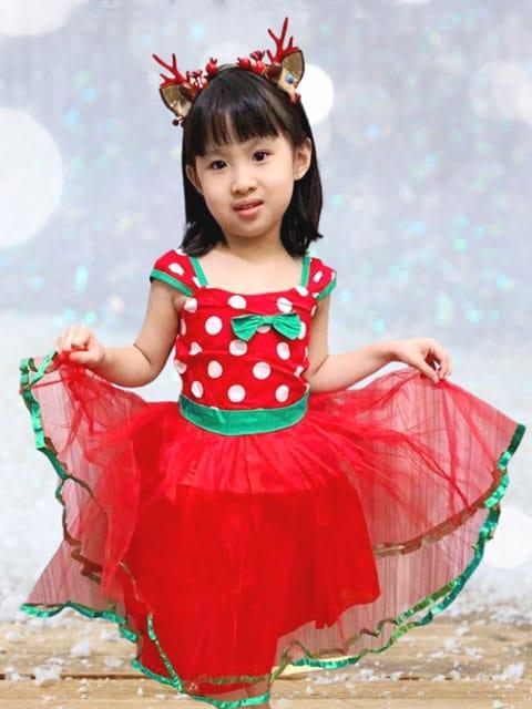 Xmas Polka Dot Dress Singapore