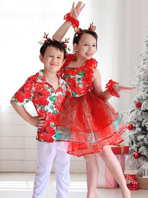 Tropical Xmas nice wear for christmas