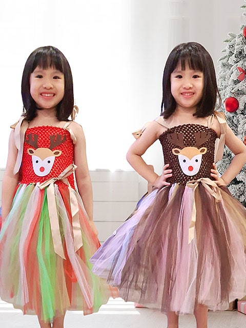Christmas dress theme For girl