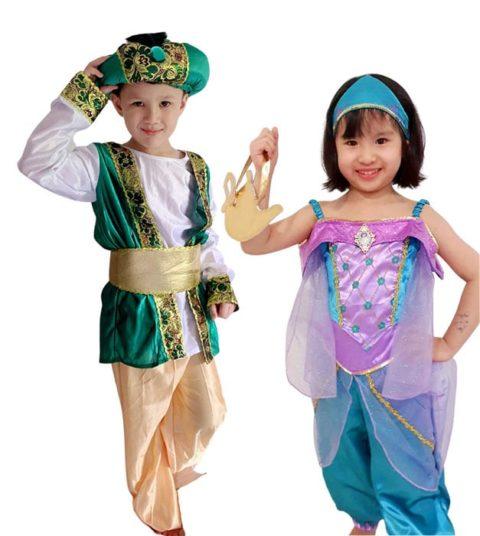 Prince Aladdin and Princess Jasmine Costume