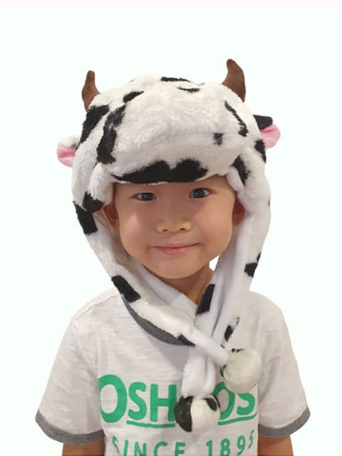 super cute cow headgear Singapore