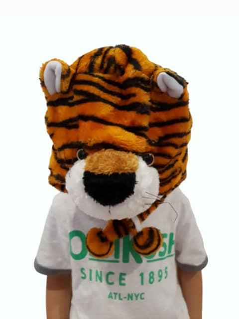 tiger headgear plush