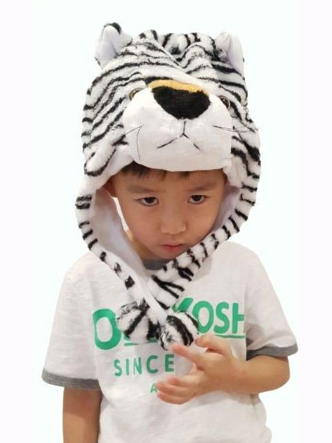 white tiger headgear Singapore