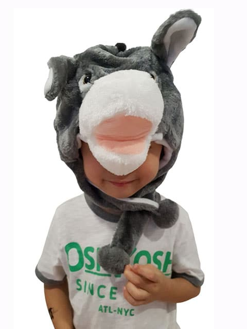 donkey headgear plush Singapore