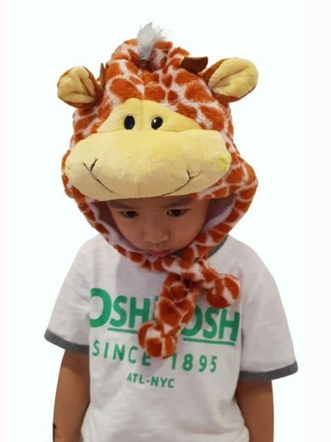 giraffe headgear