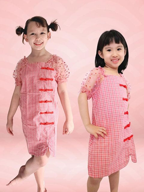 Prosper Knots lunar dress for girl singapore
