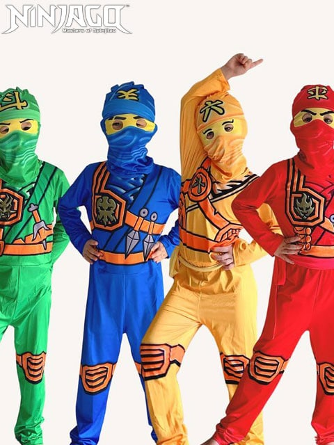 NinjaGo Costume suit singapore