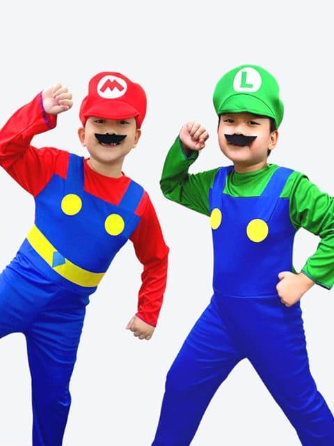 Mario Bros & Luigi Set characters