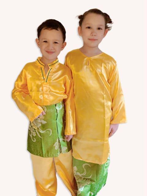 Malay Yellow Series wear