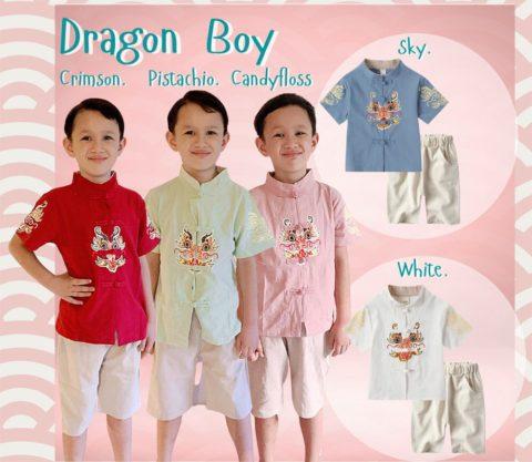 Dragon Boy outfit cny singapore