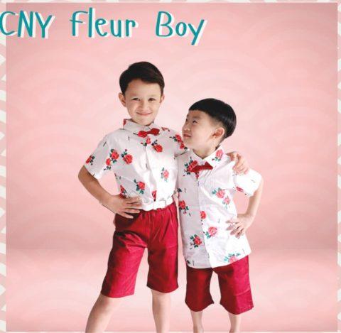 Fleur Boy outfit for lunar New Year 2021