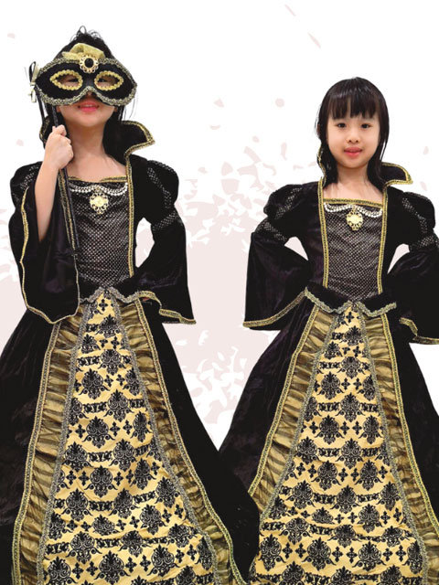 Phantom of Opera dress costume children singapore