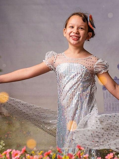 Elsa Frozen 2 Dress singapore
