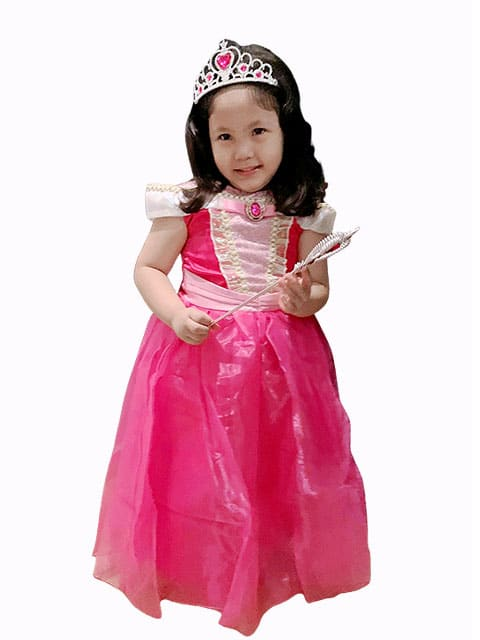 Princess Aurora royal Dress costume