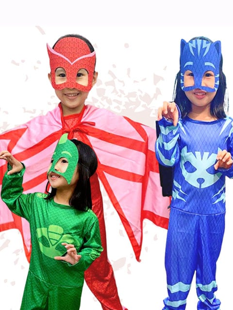 PJ Mask Cosplay Costumes Kids singapore