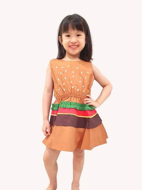 Burger Dress singapore children